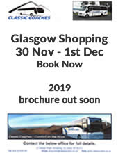 Shopping Coach Tour to Glasgow from Belfast, Northern Ireland with Classic Coaches