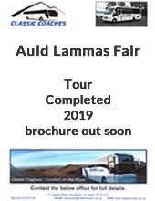 Coach Tour to Auld Lammas Fair, Ballycastle, Northern Ireland with Classic Coaches